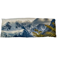 Snowy Andes Mountains, El Chalten Argentina Body Pillow Case Dakimakura (Two Sides)
