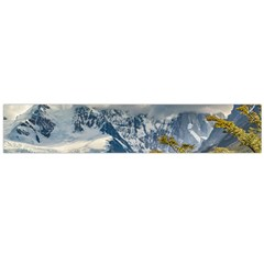 Snowy Andes Mountains, El Chalten Argentina Flano Scarf (Large)