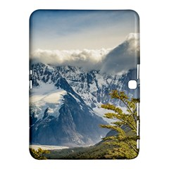 Snowy Andes Mountains, El Chalten Argentina Samsung Galaxy Tab 4 (10.1 ) Hardshell Case