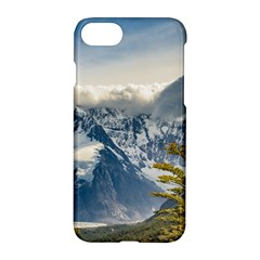 Snowy Andes Mountains, El Chalten Argentina Apple Iphone 7 Hardshell Case
