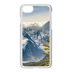 Snowy Andes Mountains, El Chalten Argentina Apple Iphone 7 Seamless Case (white)