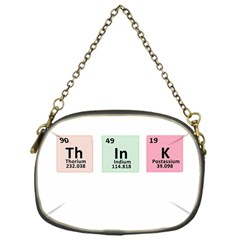 Think - Chemistry Chain Purses (One Side)