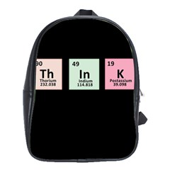 Think - Chemistry School Bags(Large)