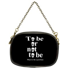 To Be Or Not To Be Chain Purses (one Side)