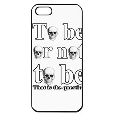 To be or not to be Apple iPhone 5 Seamless Case (Black)