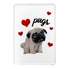 Love pugs Samsung Galaxy Tab Pro 12.2 Hardshell Case