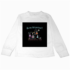 Chemistry Lab Kids Long Sleeve T Shirts