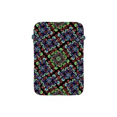 Colorful Floral Collage Pattern Apple iPad Mini Protective Soft Cases