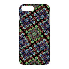 Colorful Floral Collage Pattern Apple Iphone 7 Plus Hardshell Case