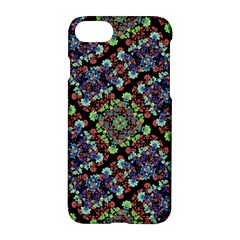 Colorful Floral Collage Pattern Apple Iphone 7 Hardshell Case