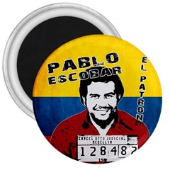Pablo Escobar 3  Magnets