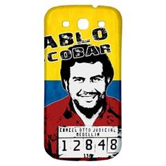 Pablo Escobar Samsung Galaxy S3 S III Classic Hardshell Back Case