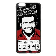 Pablo Escobar Apple Iphone 6 Plus/6s Plus Black Enamel Case
