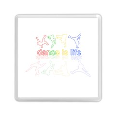 Dance is life Memory Card Reader (Square)