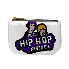 Real Hip Hop never die Mini Coin Purses