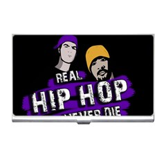 Real Hip Hop Never Die Business Card Holders