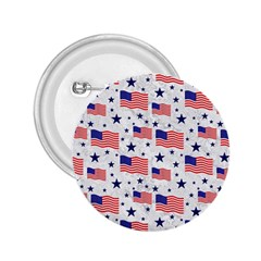 Flag Of The Usa Pattern 2 25  Buttons