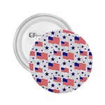 Flag Of The Usa Pattern 2.25  Buttons Front