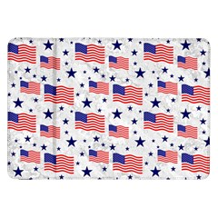 Flag Of The Usa Pattern Samsung Galaxy Tab 8 9  P7300 Flip Case
