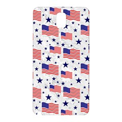 Flag Of The Usa Pattern Samsung Galaxy Note 3 N9005 Hardshell Back Case
