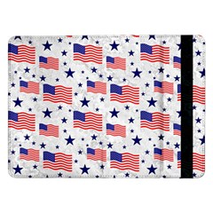 Flag Of The Usa Pattern Samsung Galaxy Tab Pro 12 2  Flip Case