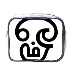 Hindu Om Symbol in Tamil  Mini Toiletries Bags