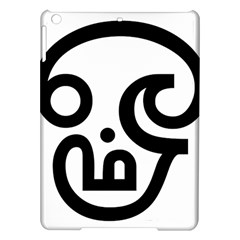 Hindu Om Symbol in Tamil  iPad Air Hardshell Cases