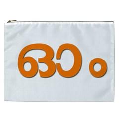 Hindu Om Symbol in Malayalam Script Cosmetic Bag (XXL)
