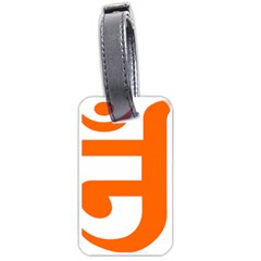 Om Symbol in Jainism  Luggage Tags (Two Sides)