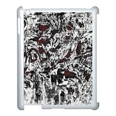 Pattern Apple iPad 3/4 Case (White)