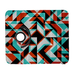 4 colors shapes    Samsung Galaxy Note II Flip 360 Case