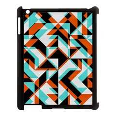 4 colors shapes    Apple iPad Mini Hardshell Case (Compatible with Smart Cover)