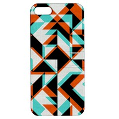 4 colors shapes    Apple iPhone 4/4S Hardshell Case with Stand