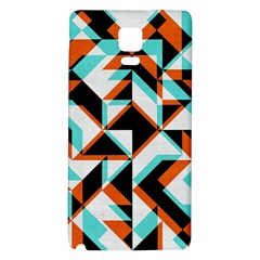 4 Colors Shapes    Samsung Galaxy Note Edge Hardshell Case