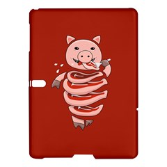 Red Stupid Self Eating Gluttonous Pig Samsung Galaxy Tab S (10 5 ) Hardshell Case