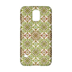 Colorful Stylized Floral Boho Samsung Galaxy S5 Hardshell Case