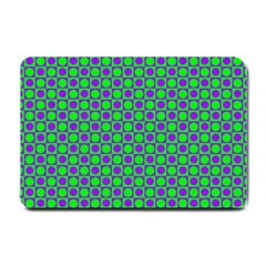 Friendly Retro Pattern A Small Doormat