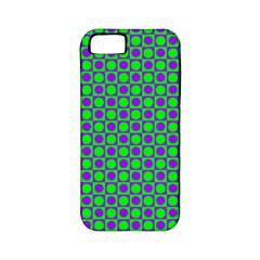 Friendly Retro Pattern A Apple iPhone 5 Classic Hardshell Case (PC+Silicone)