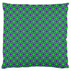 Friendly Retro Pattern A Large Flano Cushion Case (Two Sides)