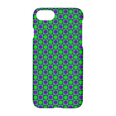 Friendly Retro Pattern A Apple Iphone 7 Hardshell Case
