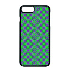Friendly Retro Pattern A Apple Iphone 7 Plus Seamless Case (black)