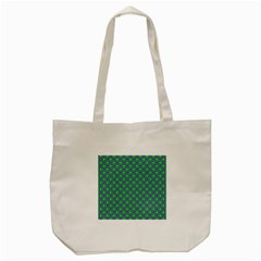 Friendly Retro Pattern A Tote Bag (Cream)
