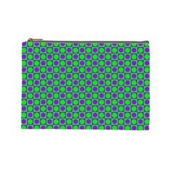Friendly Retro Pattern A Cosmetic Bag (Large)