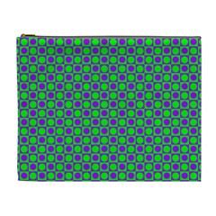 Friendly Retro Pattern A Cosmetic Bag (XL)