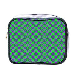 Friendly Retro Pattern A Mini Toiletries Bags