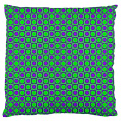 Friendly Retro Pattern A Large Cushion Case (One Side)