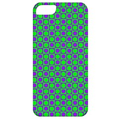 Friendly Retro Pattern A Apple iPhone 5 Classic Hardshell Case