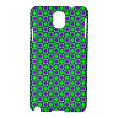 Friendly Retro Pattern A Samsung Galaxy Note 3 N9005 Hardshell Case