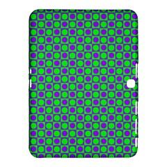 Friendly Retro Pattern A Samsung Galaxy Tab 4 (10.1 ) Hardshell Case