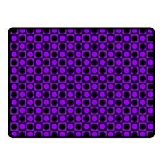 Friendly Retro Pattern B Fleece Blanket (Small)